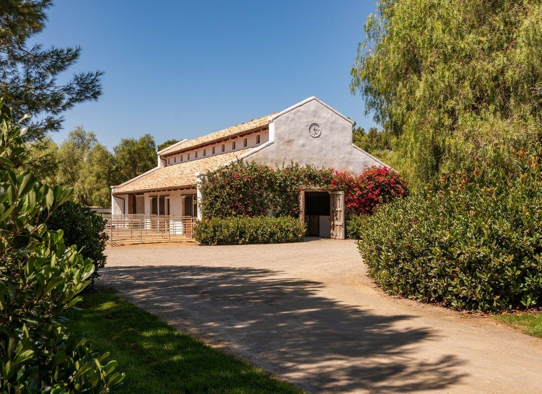 Equestrian facility in Rancho Santa Fe Covenant