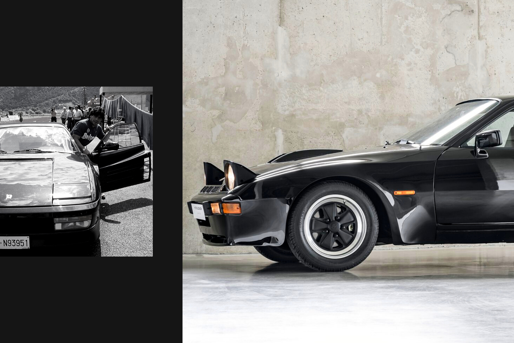 The Top 4 exotic cars from Diego Maradona's collection ()