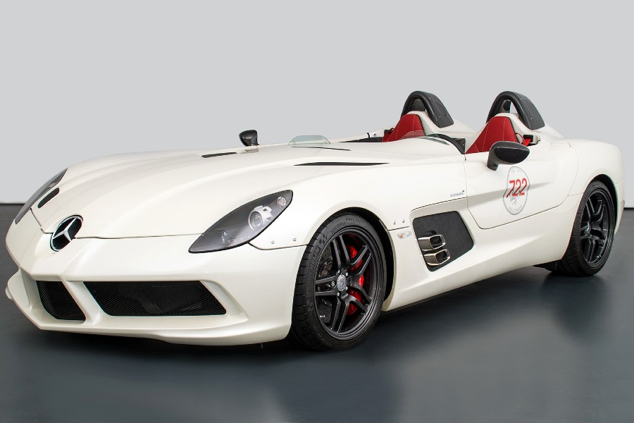 The most expensive Mercedes-Benz SLR ever sold