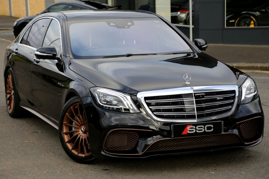 The most expensive Mercedes-Benz black sedan car for sale today.