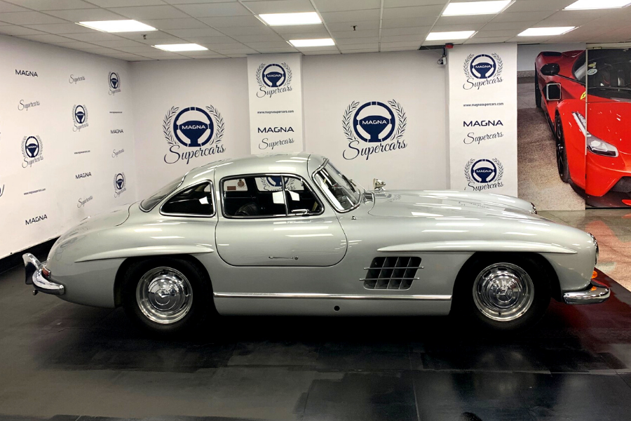 The most expensive classic Mercedes-Benz car in the world, in 2021.
