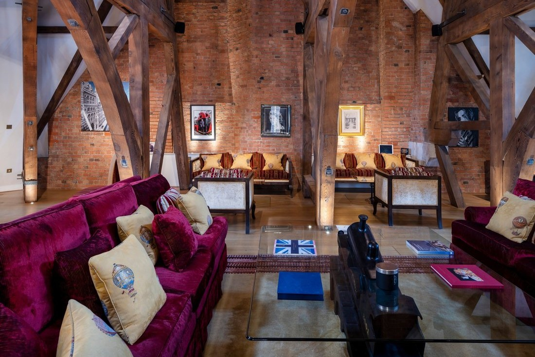 St Pancras Chambers Penthouse, reportedly the best penthouse in London