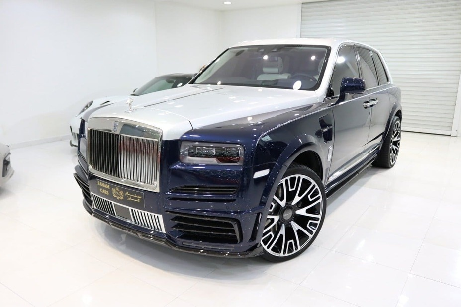 The most expensive luxury SUV: 2020 Rolls-Royce Cullinan by Mansory.