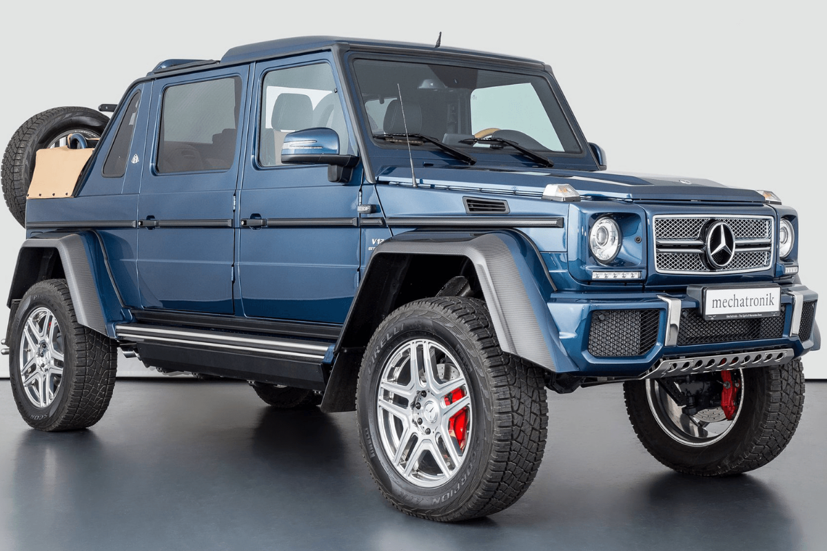 The most expensive luxury SUV in the world in 2021: 2018 Mercedes-Benz G650 Maybach Landaulet