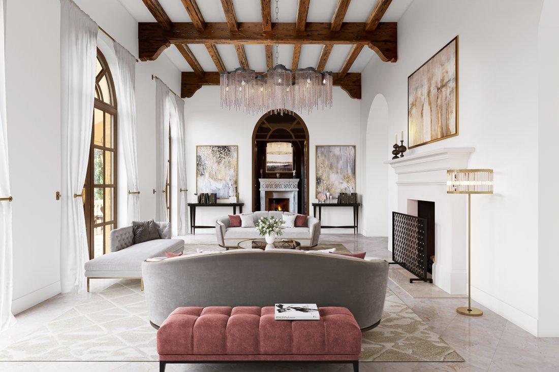 Santa Barbara style homes in architectural archives: Mission architecture and design