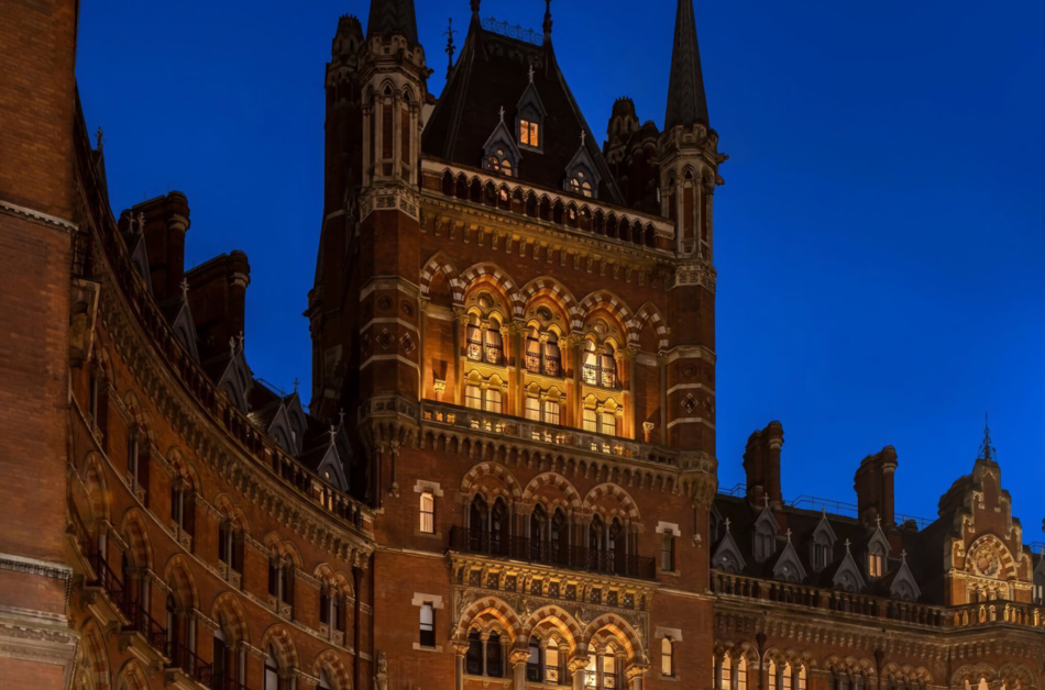 Gothic penthouse in St Pancras surprises the London property scene