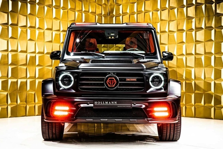 The most expensive luxury SUV: Mercedes-Benz G63 AMG Star Trooper by Mansory.