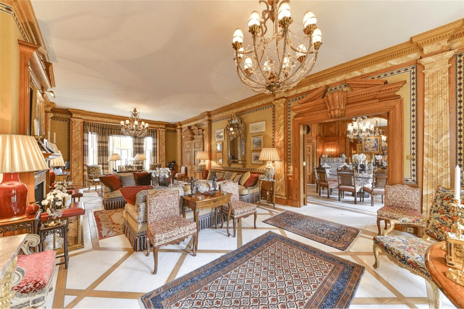 Who owns the most expensive house in London