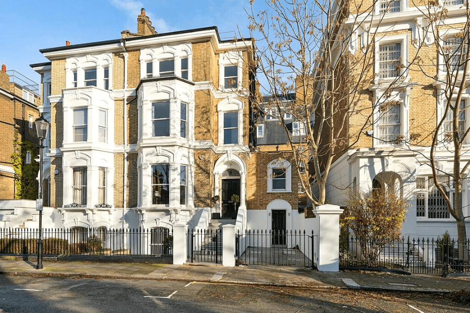 The most expensive house ever sold in London, UK