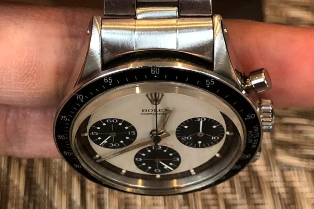 Rolex Daytona Paul Newman with a black dial, in gold. Price, review, seller