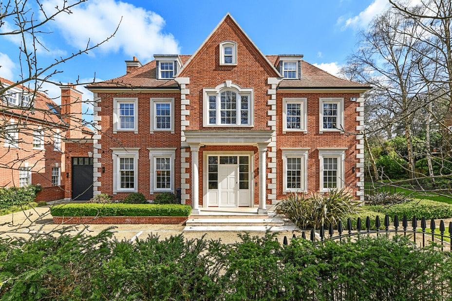 The most expensive house in London, Hyde Park