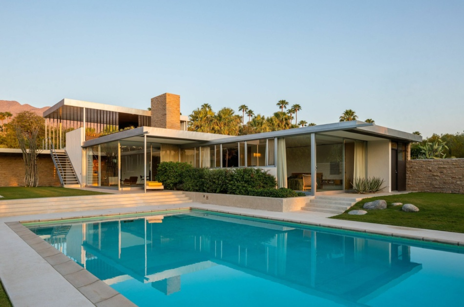 An architectural icon for sale in Palm Springs: Kaufmann desert house is back on the market for $16.9 million