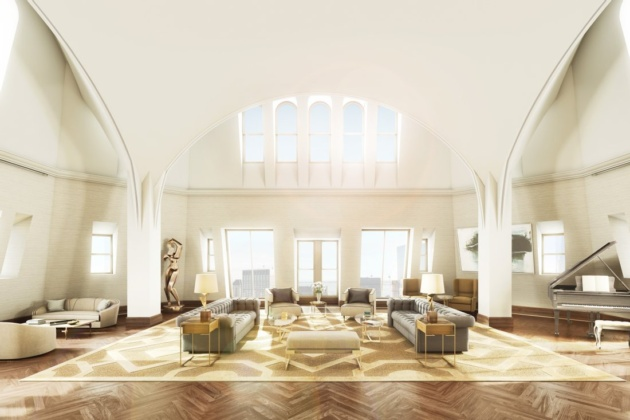 The woolworth building apartments for sale in NYC, USA