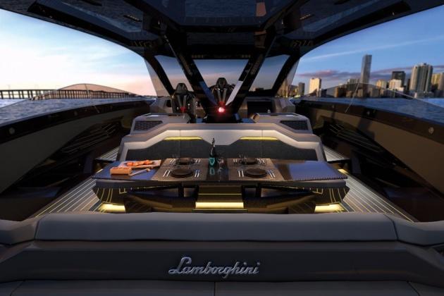 lambo speed boat for sale: meet the first lamborghini aventador yacht.