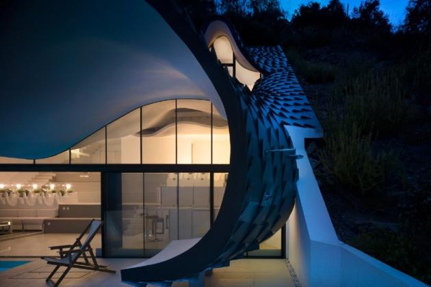 Futuristic mansions: house design ideas