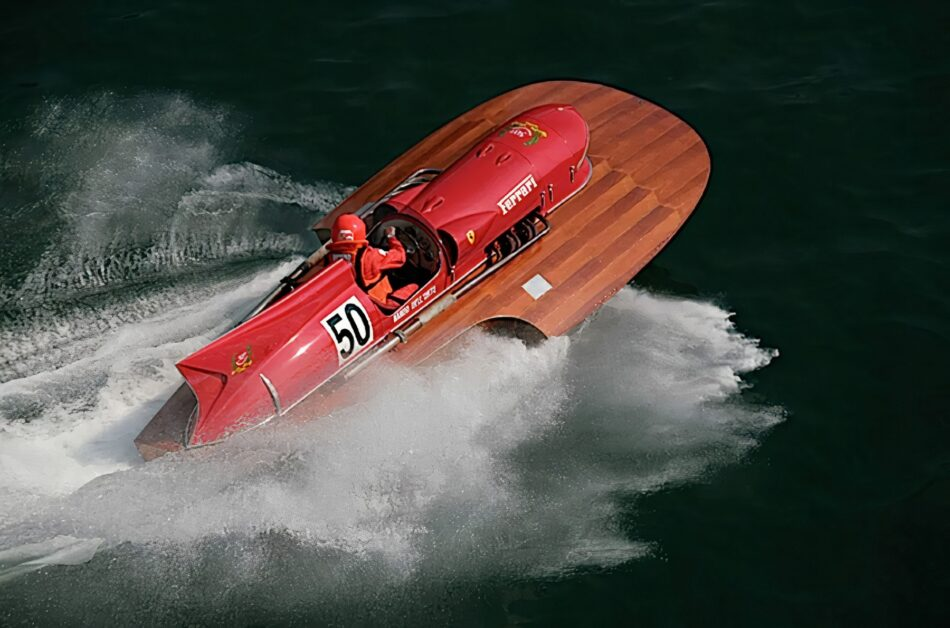Ferrari racing hydroplane co-created by Enzo is listed for $12 million