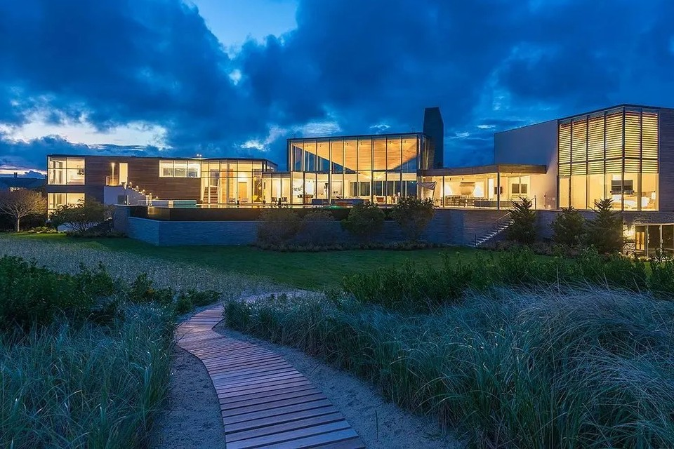 Who owns the most expensive house in The Hamptons, New York,