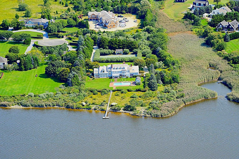 The biggest mansion in Southampton, The Hamptons, address.