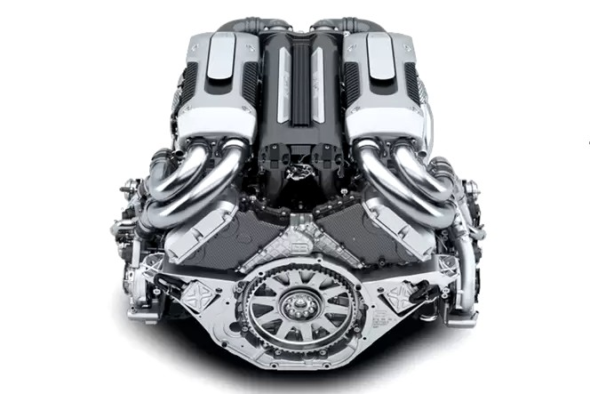 Jacob and Co Bugatti Watch with W16 engine
