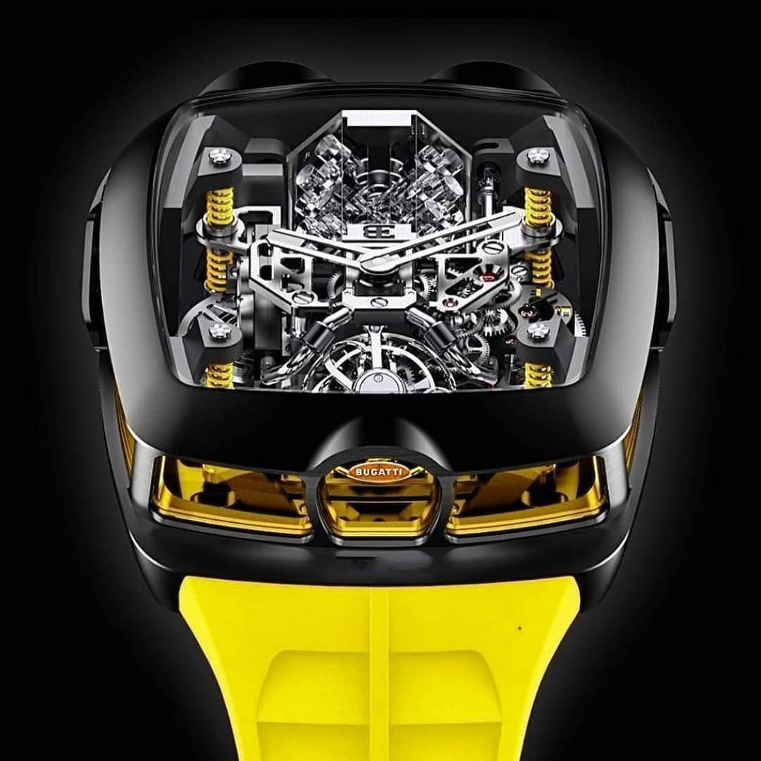 New Jacob and Co Bugatti Chiron men's watch fro sale: price, review, real-life images.