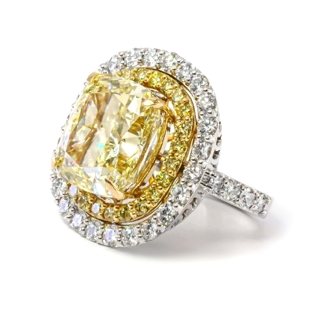 All you need to know about yellow diamonds. Are yellow diamonds more expensive than white once, and how much exactly a 2 carat yellow diamond worth?