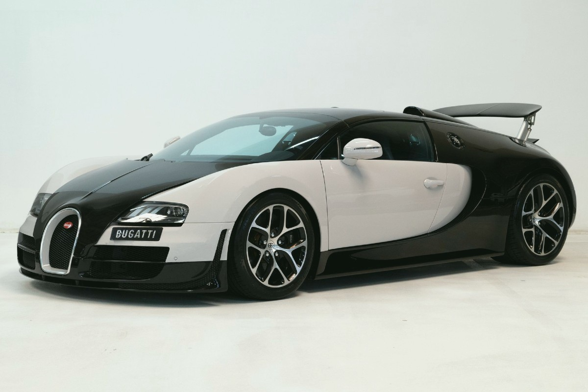 The top 10 most expensive new Bugatti cars: Veyron, Chiron, Divo, Centodieci.