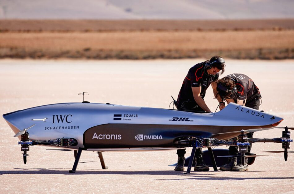 IWC and Airspeeder are launching an electric flying racecar