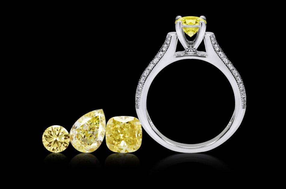 Yellow diamonds: Rare, striking, and investment-friendly