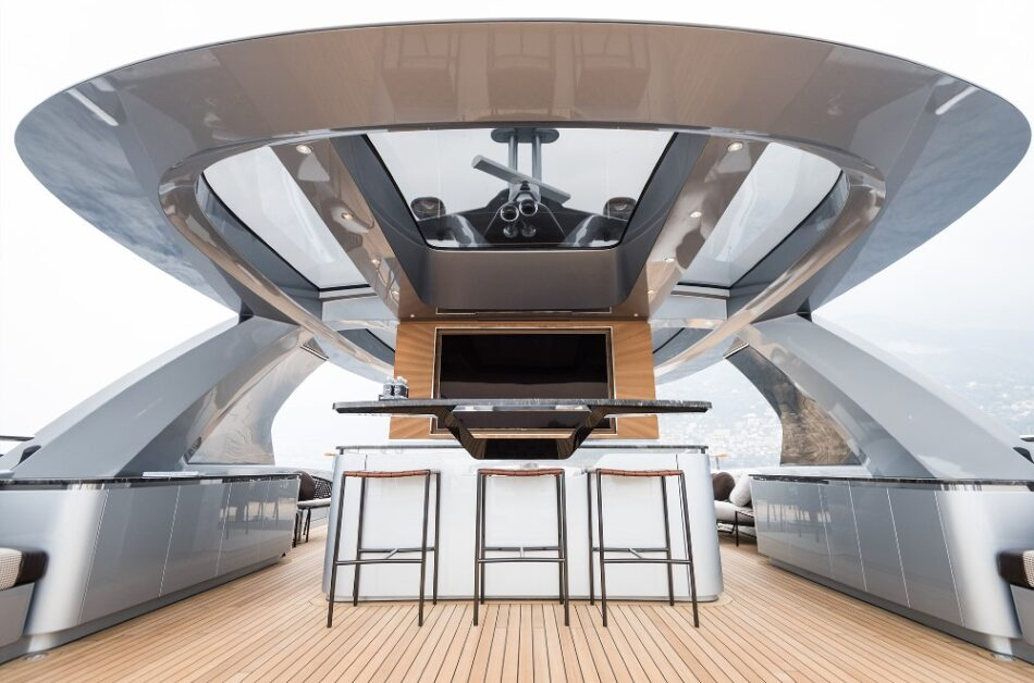 Porsche yacht built by Dynamiq for sale: price, review.