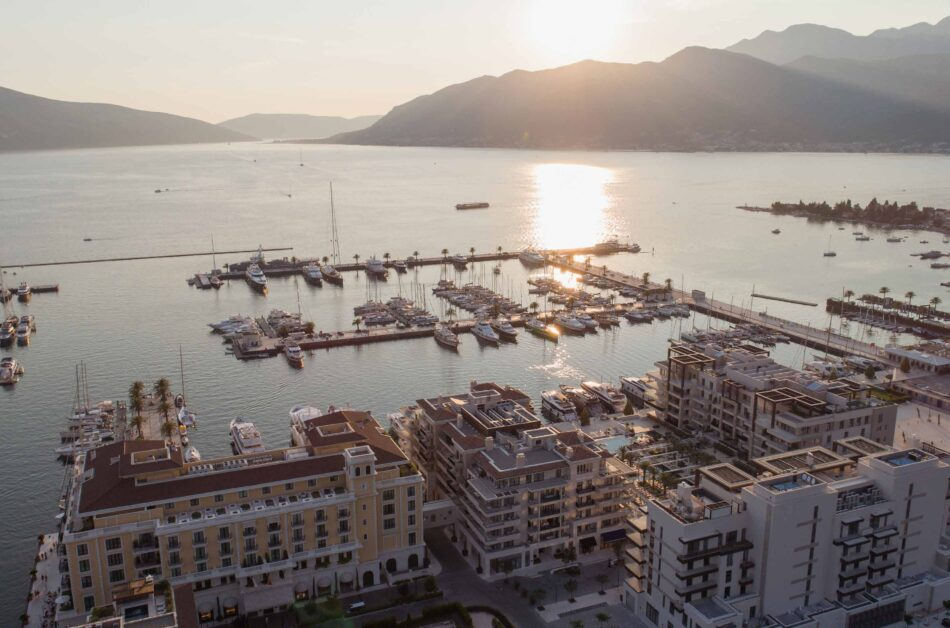 Porto Montenegro, now officially the World's Best Superyacht Marina, catering to the global jet set