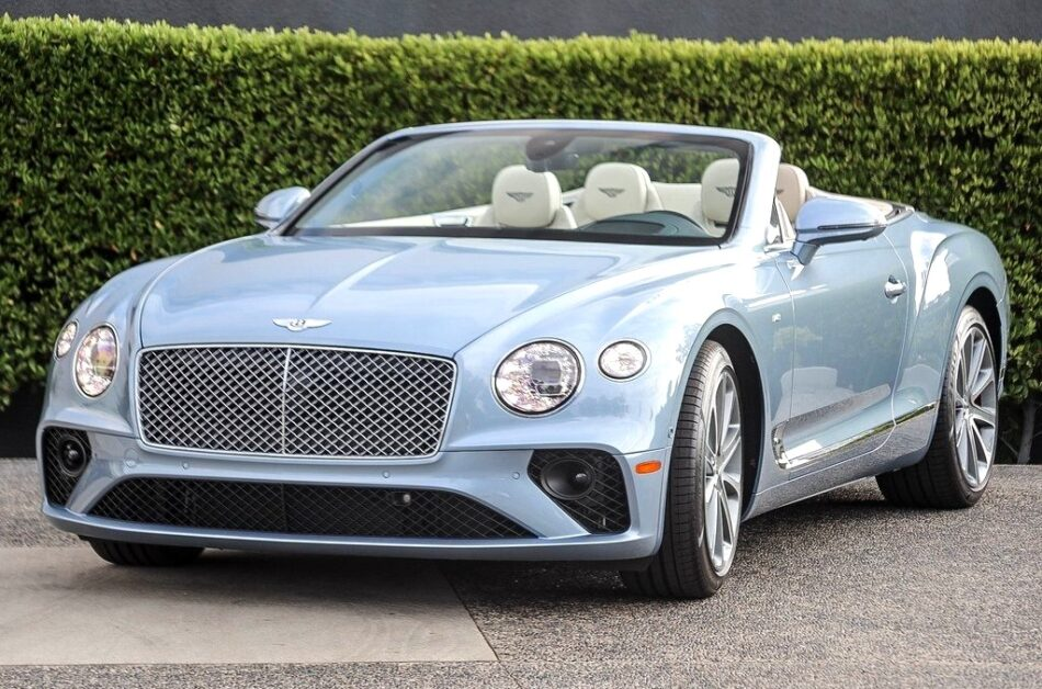 How much is the most expensive Bentley?