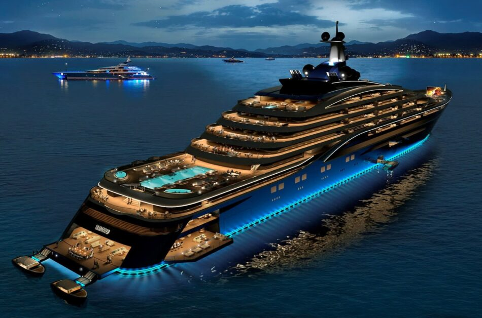 World's largest superyacht to offer multimillion-euro apartments for sale